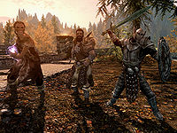 Skyrim Bandit The Unofficial Elder Scrolls Pages Uesp