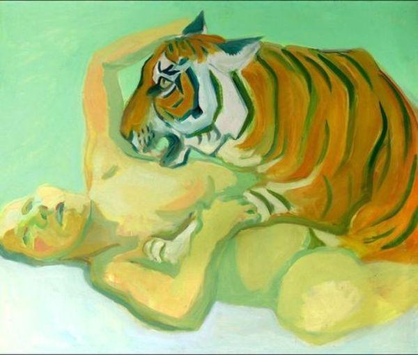 Maria Lassnig Woman Power Uffizi Galleries