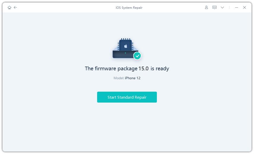 start repairing ios system using reiboot pro Free download