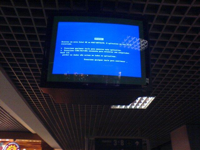 aeroporto problema