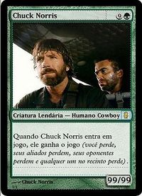 A lendária e fatal carta de Magic de Chuck Norris