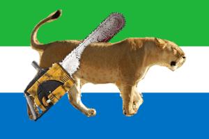 Bandeira Da Serra Leoa Desciclopdia