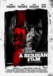 Movie poster featuring two distraught Serbian men