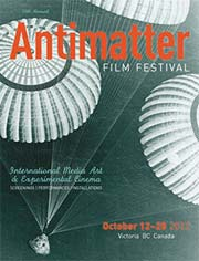 2012 Antimatter Film Festival poster