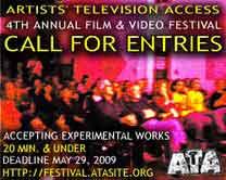 2009 ATA Film & Video Festival Call for Entries