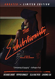 DVD cover art for The Exhibitionists