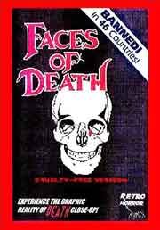 Faces of Death DVD box cover