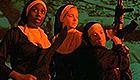 Three nuns ready to commit violence