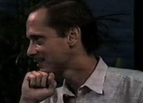 John Waters on a talk show circa 1984