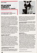 Film festival program scan featuring work by Peaches Christ
