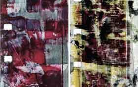Luther Price Inkblot frames