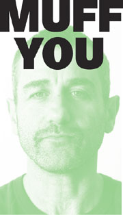 2012 Melbourne Underground Film Festival poster man's face