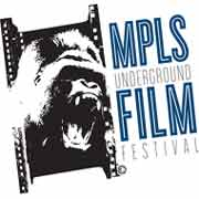 Minneapolis Underground Film Festival screaming gorilla logo
