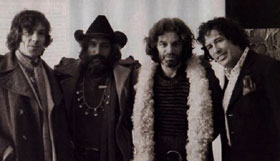 Donald Cammell, Dennis Hopper, Alejandro Jodorowsky and Kenneth Anger