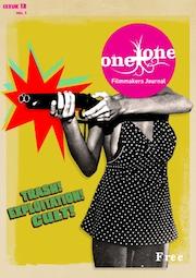 Woman firing a shotgun