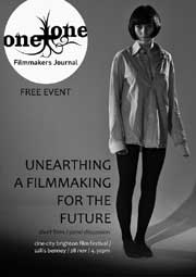 Film Journal cover featuring a woman wearing a man's shirt