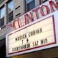 Clinton Street Theater marquee all lit up