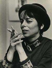 Shirley Clarke in profile