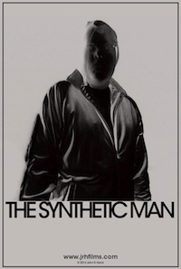 Movie poster featuring profile of The Synthetic Man