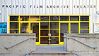 Front entrance to the Pacific Film Archive