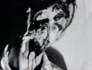 Film still from Where Evil Dwells by Tommy Turner featuring a zombie