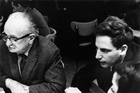 Slavko Vorkapitch and Nathaniel Dorsky, 1965