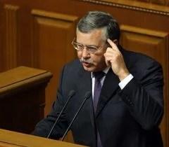 Анатолій Гриценко під час засідання ВР. Київ, 20 вересня