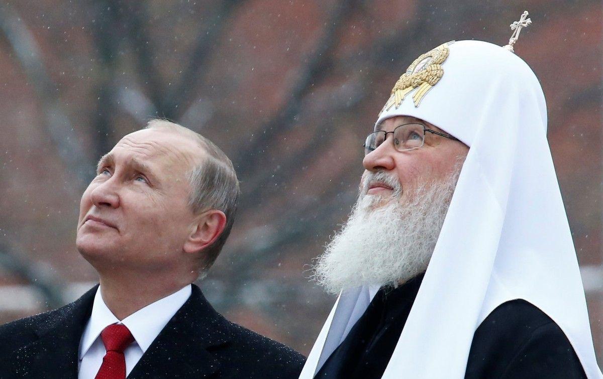 Картинки по запросу Путин и Кирилл
