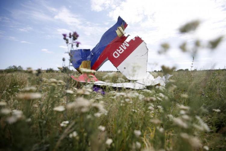 Уламки збитого над Донбасом MH17