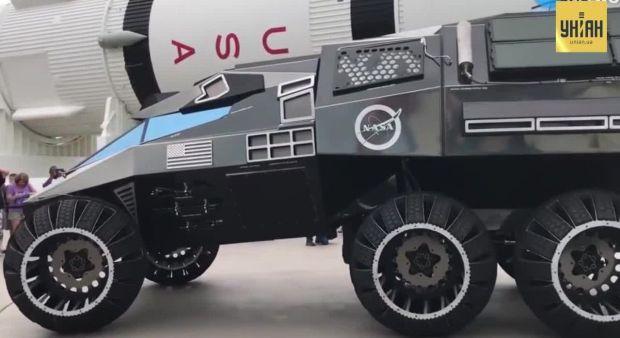 NASA представила концепт нового поколения марсоходов Mars Rover
