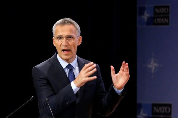 "NATO chief Jens Stoltenberg: ""We cannot isolate Russia ..."