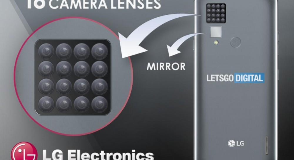 Новый рекорд: LG выпустит телефон с шестнадцатью камерами