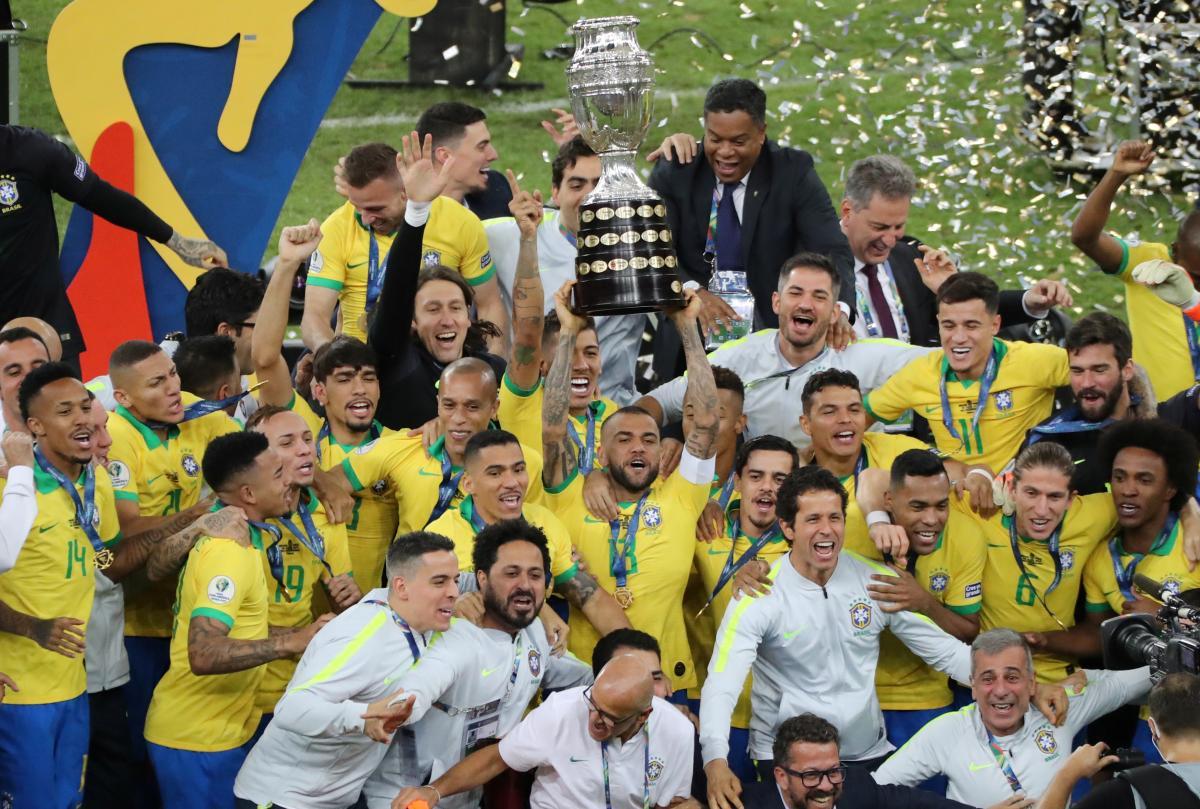 Сборная Бразилии – победитель Кубка Америки-2019 – МИГ