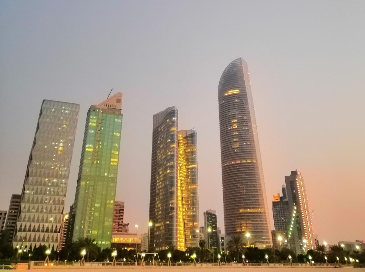 Абу-Даби, ОАЭ - самый роскошный город мира - фото