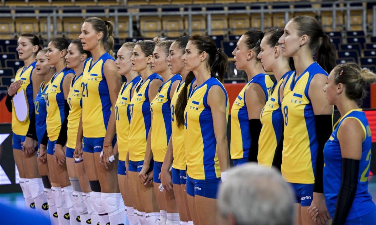 Сборная Украины потерпела крупное поражение на старте ...