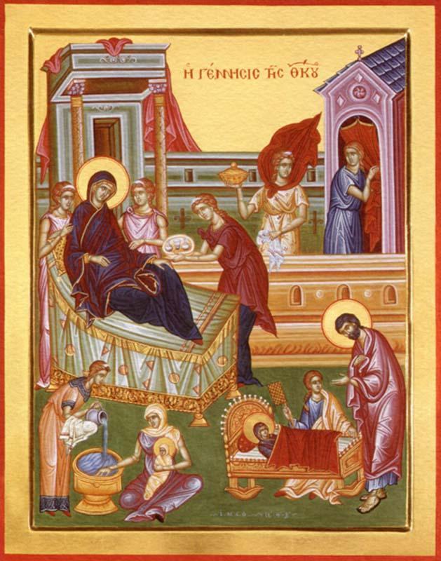 Різдво Божої Матері ознаменувало настання часу, коли почали відбуватися великі та втішні Божі послання
