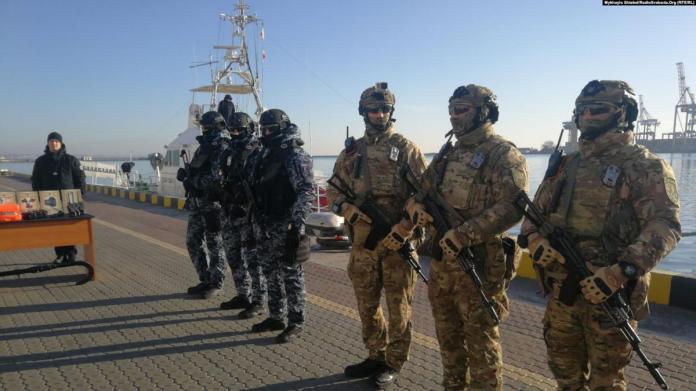 Частина обладнання вже активно використовується на службі охоронців / Фото: Радіо Свобода