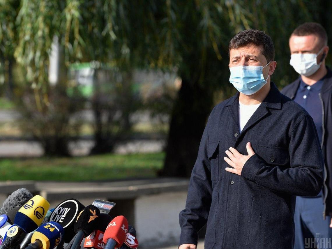 Зеленский заболел коронавирусом / фото УНИАН