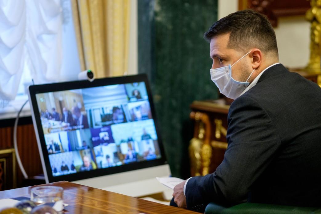 Коронавирус у Зеленского - президент впервые рассказал о самочувствии / фото офис президента