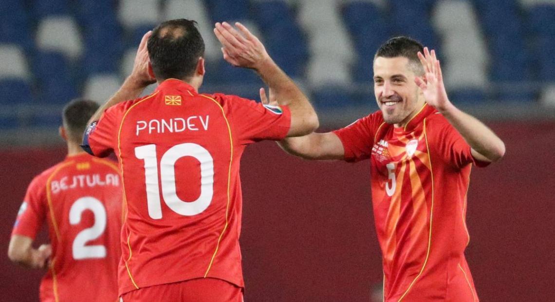37-летний Горан Пандев вывел Северную Македонию на Евро / фото REUTERS