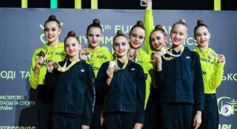 ЧЕ по художественной гимнастике 2020 - Украинские ...