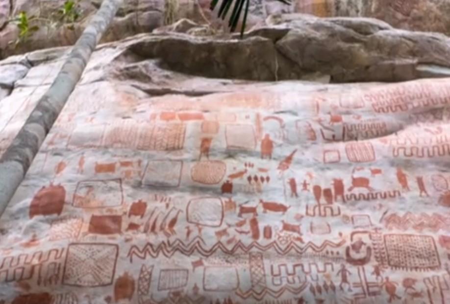 В джунглях Амазонки нашли тысячи рисунков ледникового ...