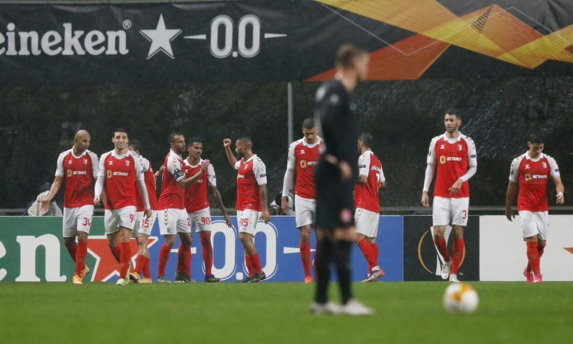Заря проиграла Браге в Лиге Европы / фото REUTERS