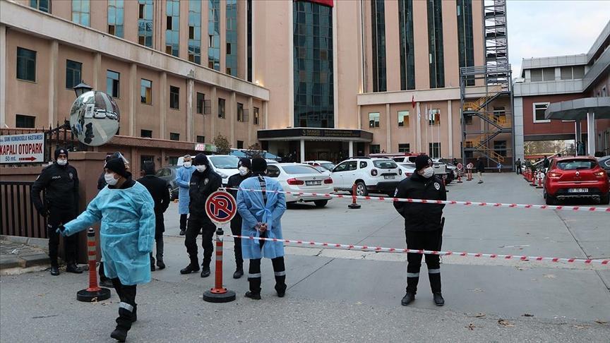 Пожар в больнице Турции - число жертв увеличилось / aa.com.tr