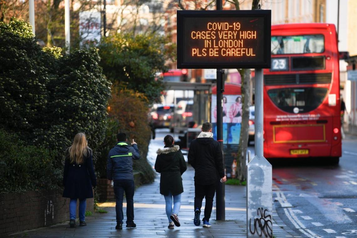 В Великобритании ухудшилась эпидситуация / REUTERS