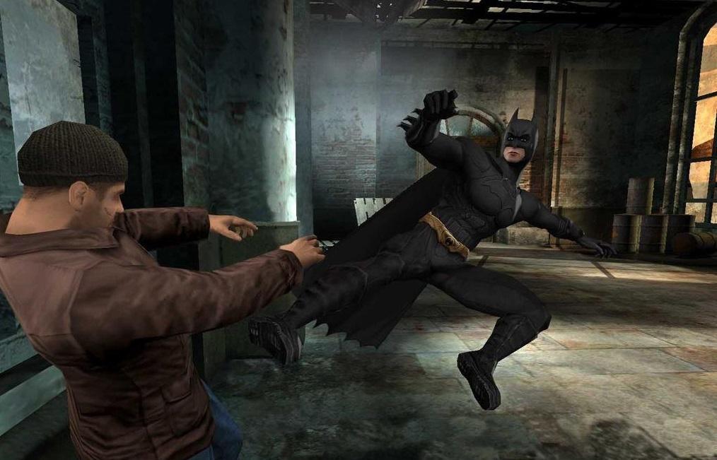 Кадр из игры Batman Begins /скриншот