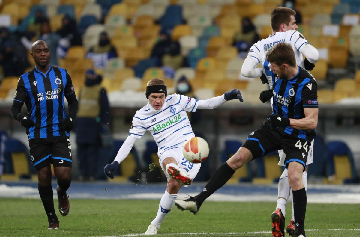 Брюгге Динамо - где смотреть онлайн матч Лиги Европы 25.02 ...