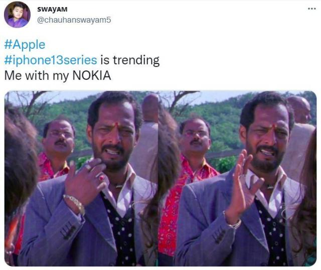 """""""Пока линейка iPhone 13 набирает популярность, я со своей Nokia"""" / Фото из соцсетей"""