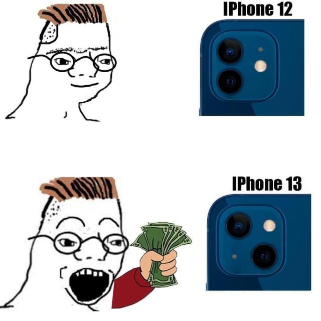 Новый iPhone 13 рассмешил соцсети: самые яркие шутки и мемы - УНИАН