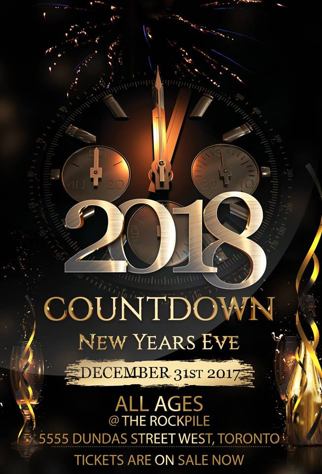 TORONTO ALL AGES Countdown   New Year s Eve 2018   Universe TORONTO ALL AGES Countdown   New Year s Eve 2018